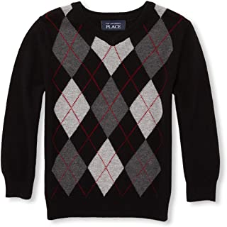 The Children's Place Baby Boys Argyle Sweaters