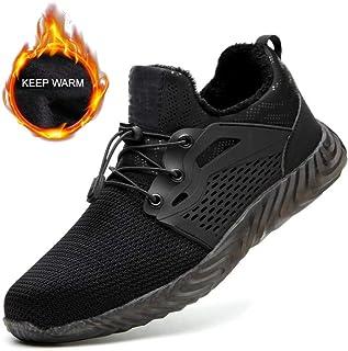 XLYAN Chaussures Travail Anti-Perforation Acier Chaussures De Protection Isolantes Anti-perforantes Anti-écrasement Hiver ...