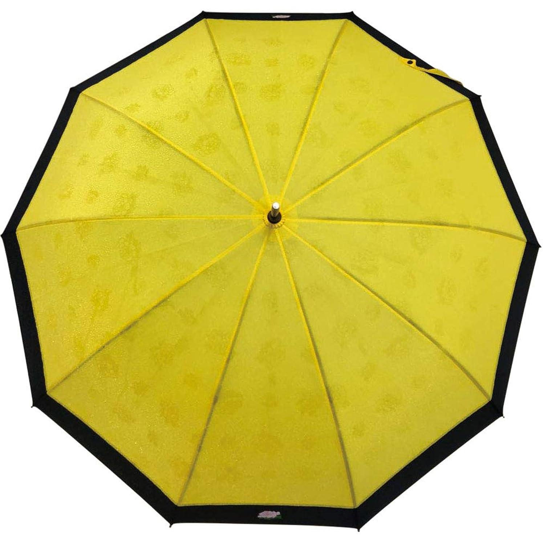 とにかく流暢部屋を掃除するサントス(Santos) 長傘 黄 55cm 10本骨撥水傘 JK-112-02