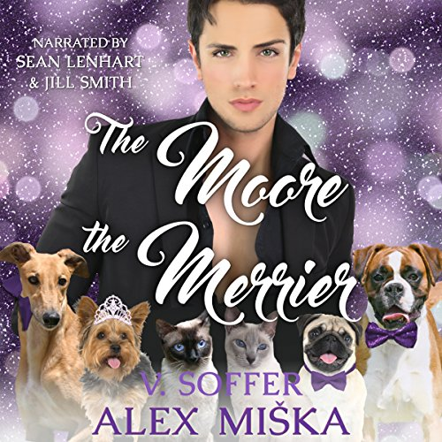 The Moore the Merrier audiobook cover art