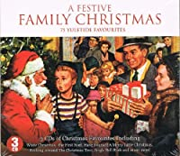 FESTIVE FAMILY CHRISTMAS-V/A-3CD