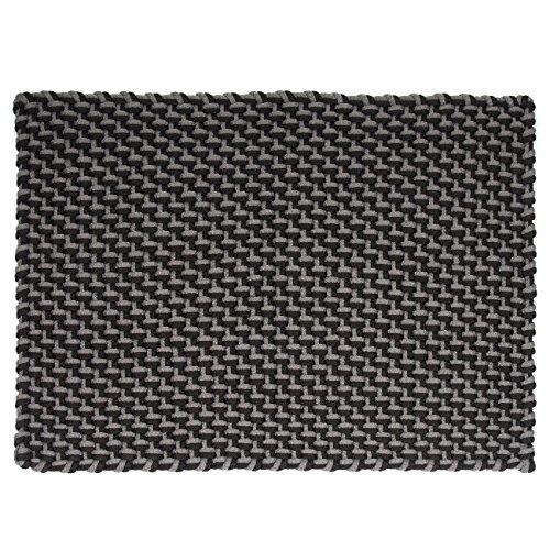 pad - Fußmatte - Fußabtreter - Pool - in/Outdoor - Stone-Black - schwarz-grau - 52 x 72 cm