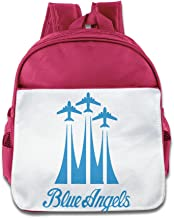 Lovely Baby US Navy Blue Angels Plane Boys And Girls RoyalBlue School Backpack For 1-6 Years Old