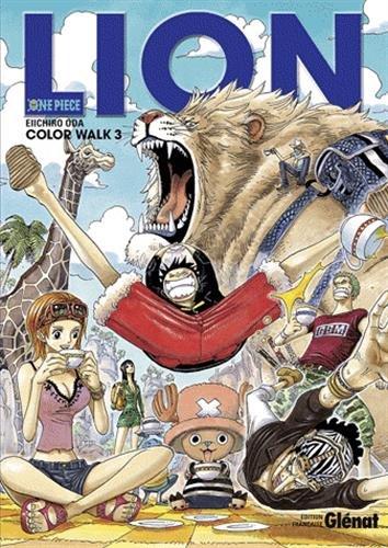 One Piece Color Walk - Tome 03: Lion