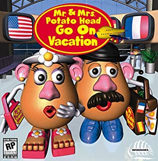 mr and mrs potato head go on vacation