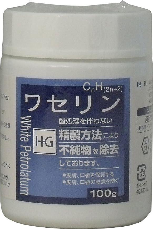 果てしないぺディカブ期待して皮膚保護 ワセリンHG 100g ×5個セット