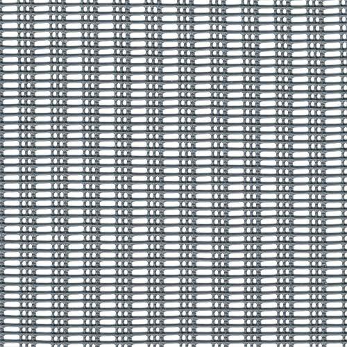 Tenax 1A100297 Mistral Délimitation Coupe-Vent Plastique Argenté