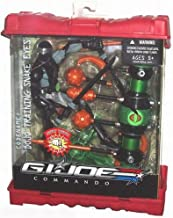 G.I. Joe Commando 8 Inch Tall Action Figure with Playset - Dojo Training Snake Eyes with Training Tower, Multiple Weapons Plus Kung Fu Grip