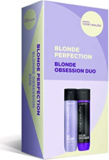 Matrix Total Results Blonde Obsession Duo, So Silver Shampoo 300ml + Color Obsessed Conditioner 300ml