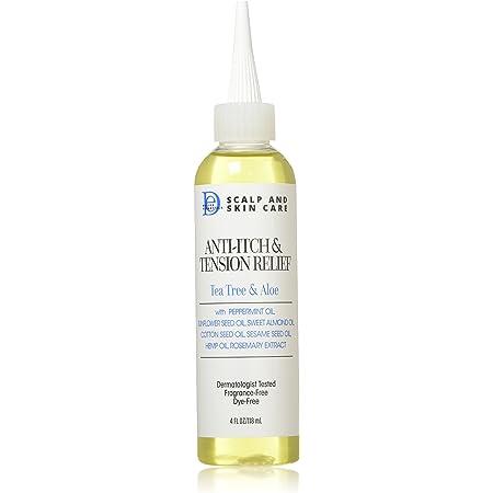 Design Essentials Scalp & Skin Care Anti-itch & Tension Relief, Yellowish Tea Tree & Aloe 4 Fl Oz