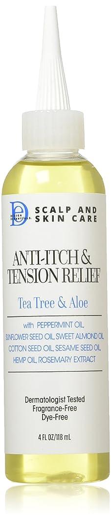 Design Essentials Scalp & Skin Care Anti-Itch & Tension Relief, Tea Tree & Aloe, 4 Fluid Ounce