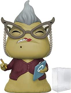 Funko Pop! Disney Pixar: Monsters Inc. - Roz Vinyl Figure (Bundled with Pop Box Protector Case)