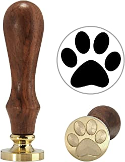 Lovely Dog Paw Wax Stamp, Yoption Vintage Retro Lovely Dog Paw Sealing Wax Seal Stamp, Great for Embellishment of Cards Envelopes, Invitations, Wine Packages, Gift Idea (Dog Paw)