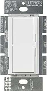 Lutron DVSTV-WH Diva 8 Amp 3-way/Single-Pole 0-