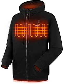 Heated Hoodie for Men Women, Lightweight Heated Sweatshirt with Battery Pack (Unisex)