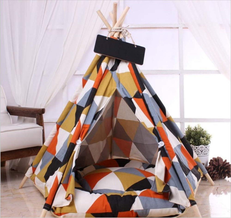 GZDXHN Dog House Pet Tent Detachable Cat Nest Kennel Teddy Bomei Small Dog Mongolian Dog House