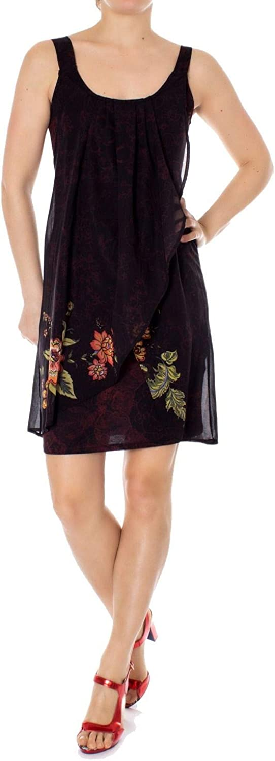 Desigual Women's 19SWVWBXBLACK Black Polyester Dress