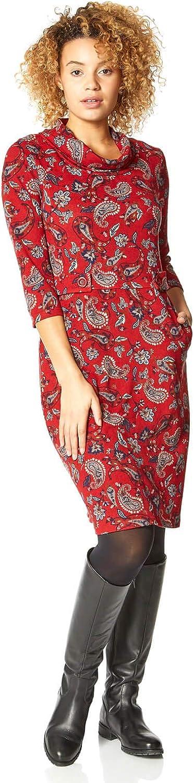 Roman Originals Women Floral Cowl Neck Ladies 67% OFF of fixed price Dress Max 41% OFF
