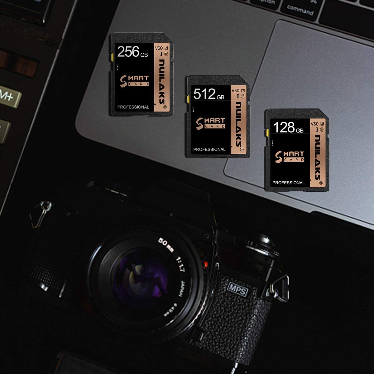 512GB SD Card Memory Card Fast Speed Security Digital Flash Memory Card Class 10 for Camera,Videographers&Vloggers and SD Card Compatible Devices(512GB)
