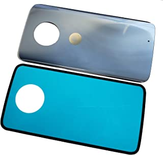 Eaglewireless Compatible Rear Panel Cover Back Glass Replacement Parts for Motorola Moto X4 XT1900 W/Tape-Blue