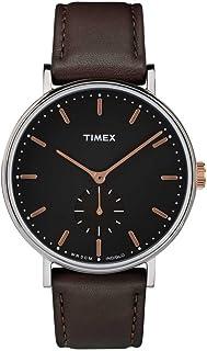Timex Reloj Análogo clásico para Hombre de Cuarzo con Correa en Cuero TW2R38100