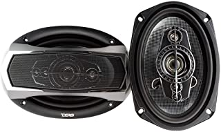 """DS18 SLC-N69X 6"""" x 9"""" 260W 5-Way Coaxial Speaker - Two Speakers Included"""
