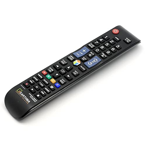EARTHMA UNIVERSAL REMOTE CONTROL FOR SAMSUNG 3D SMART LCD LED TV - REPLACEMENT