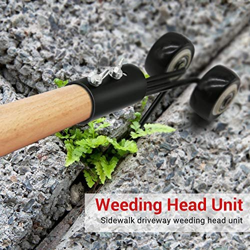 AmazeFan Manual Weeds Snatcher-Crack and Crevice Weeding Tool, Weed Puller Tool, Weed Cleaning Tool Garden Tools for Patio Backyard Garden Lawn