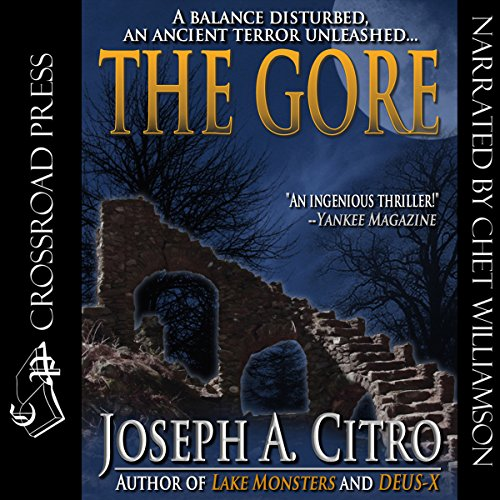 The Gore audiobook cover art