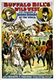 Buffalo Bills Wild West 1899a Poster, Motiv Zirkus