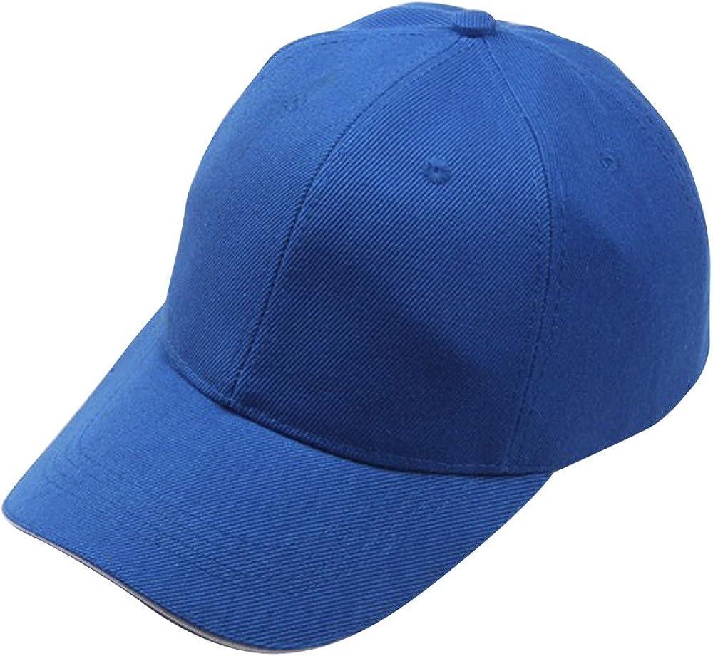 Plain Sun Hat for Men Women Simple Visor Baseball Dad Hat Sunlucky Autumn Winter 2019 Hat Series for Daily Outdoor Activities