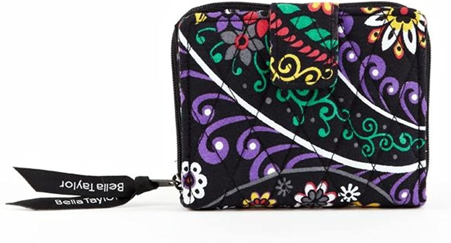 Bella Taylor Carnevale Quilted Cotton Small Wallet