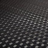 Ratán de polietileno para terrazas y balcones, color negro, 0,9 m de ancho (género al metro)