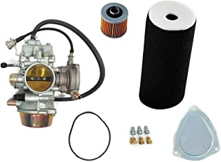 YFM660 Carburetor & Air Filter with Oil Filter fit For Yamaha Grizzly 660 YFM660 2002-2008 Carb