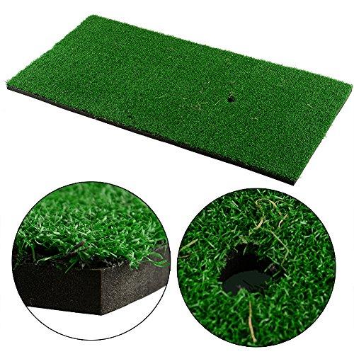 Forfar Golf Mat Golfmatten für Hinterhof Praxis Matte Nylon gemächlich Aktivität