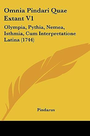 Amazon ae: omnia pindari quae extant v1 olympia pythia nemea