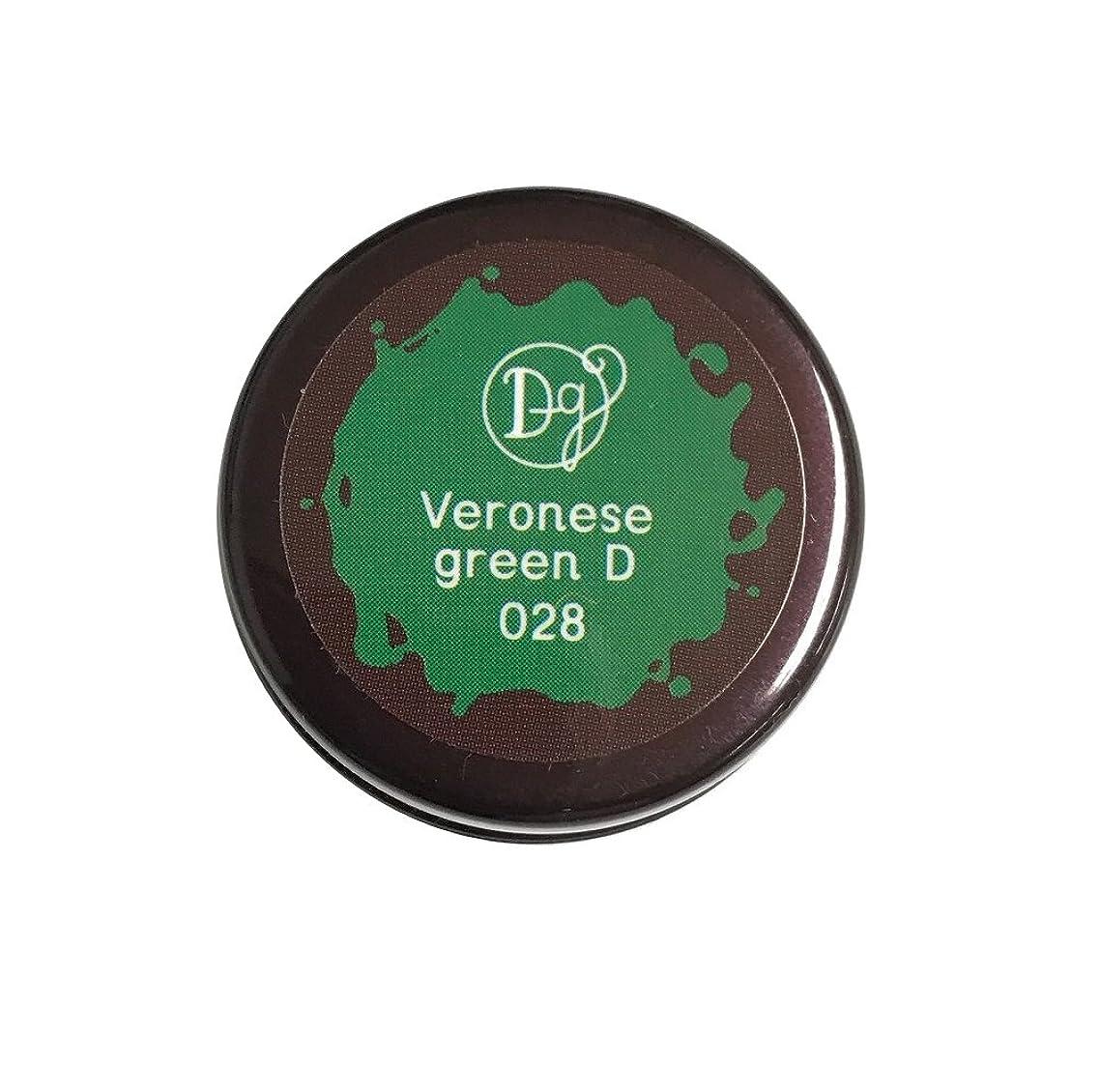 郵便局チラチラする禁止するDECORA GIRL カラージェル #028 ヴェネローゼグリーンディープ