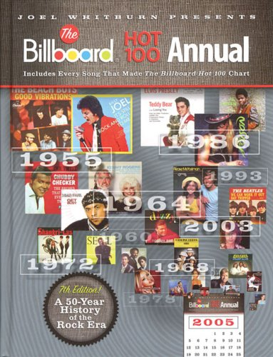 Joel Whitburn Presents The Billboard Hot 100 Annual: Includes Every Song That Made the Billboard Hot 100 Chart - Whitburn, Joel