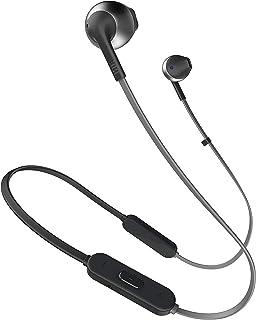 JBL T205BT by Harman Wireless Bluetooth in Ear Neckband Headphones with Mic (Black)
