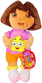 1 PCS 32CM DORA THE EXPLORER WITH BACKPACK PLUSH DOLL KIDS BABY GILRS SOFT TOY