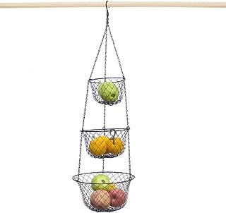 Yuciya Paniers de Filtre en Silicone Pliable Cuisine Passoire /à Laver Bol Suspendu Crochets pour /égoutter Fruits P/âtes Aux L/égumes