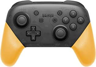 DIY Replacement Grip Shell for Nintendo Switch Pro Controller, Colorful Anti-Slip Hand Grip Shell Cover for Nintendo Switch Pro Controller with a Screwdriver (Yellow)