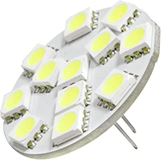 Dream Lighting Low Power 12V DC LED G4 Cool White Back Pin Down Spot Cabinet Light RV Marine Caravan Vehicle Auto Car Boat...