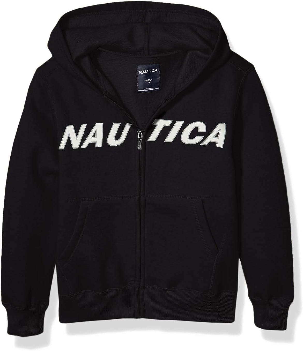 Nautica Boys' Fleece Full Zip Hoodie