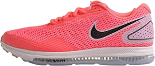 Nike Women's Zoom All Out Low 2 Running Shoe (9.5 M US, Hot Punch/Back/Lt Artic Pink)