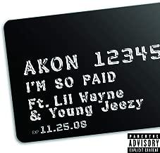Best im so paid akon mp3 Reviews