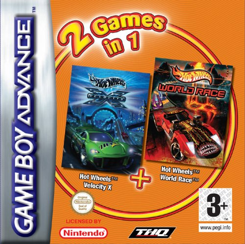 Hot Wheels Velocity X & Hot Wheels World Race Double Pack (GBA) [Edizione: Regno Unito]