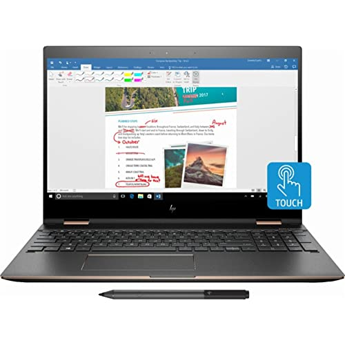 HP Spectre x360-15t Quad Core(8th Gen Intel i7-8550U, 16GB