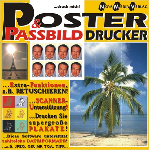 Poster- und Passbild Drucker. CD- ROM für Windows 95/98/ NT