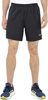 MIER Men's 7 Inches Running Shorts Quick Dry Gym Shorts Lightweight Workout with Liner, Zip Pocket
